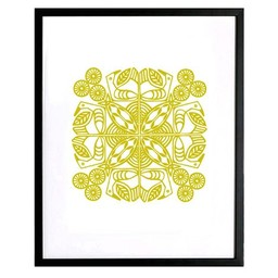 Lu West Limited screen print * Meander