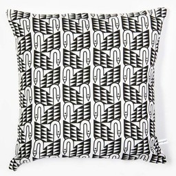 Lu West Throw Pillow * Swans