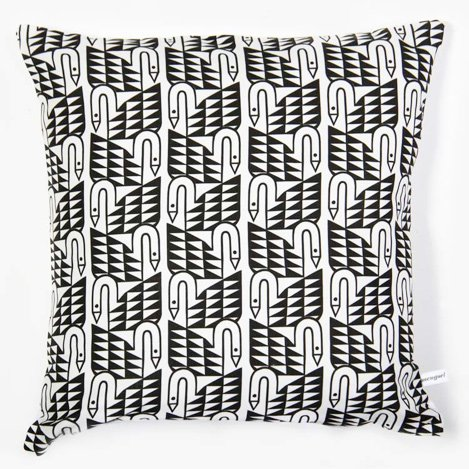Lu West * Throw Pillow * Swans