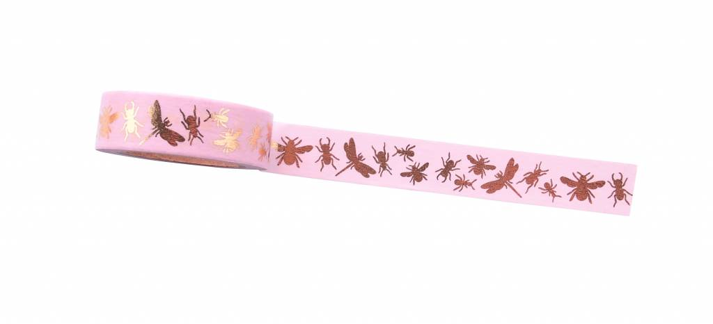 Wowgoods * Washi tape * Insects pink
