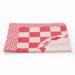 Hollandsche Waaren Hollandsche Waaren * Napkin * Brabants Bont red