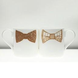 Peter Ibruegger Mug * Bow Tie Simon - Luke