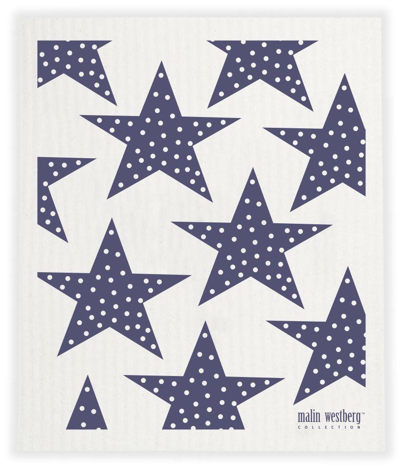 Malin Westberg Dishcloth Big Stars