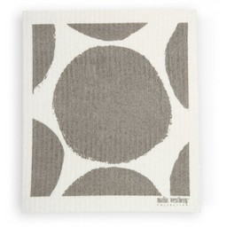 Malin Westberg Dishcloth * Bubbla grey
