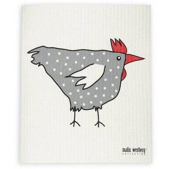 Malin Westberg Dishcloth * Rooster