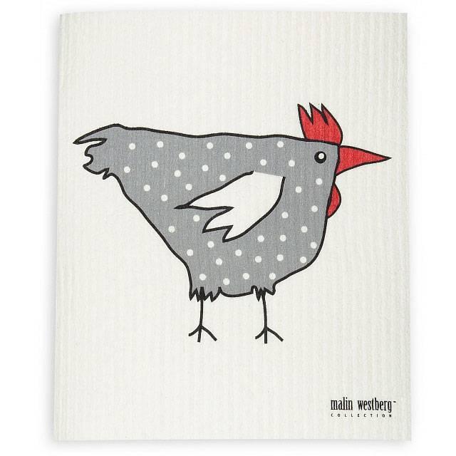 Malin Westberg Dishcloth * Rooster