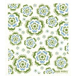 Malin Westberg Dishcloth * Sommar - green & blue