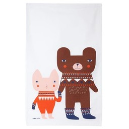 Donna Wilson Tea towel Bear Friends