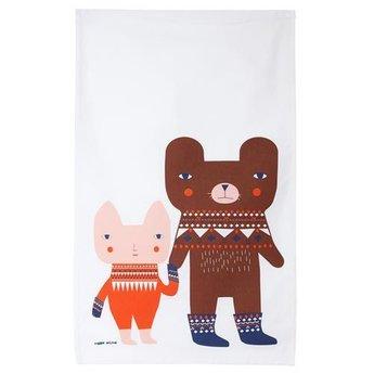 Donna Wilson Tea towel Bear Friends