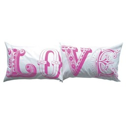 lush designs Pillowcases Love pink