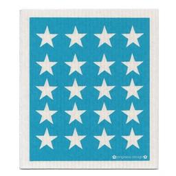 Jangneus Dishcloth Petrol Stars