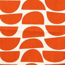 Skinny laMinx Stof Coupon Bowls rood-oranje (0,7 x 0,5 m)
