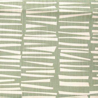 Skinny laMInx Stof Coupon Woodpile spruitjes groen (0,7 x 0,5 m)