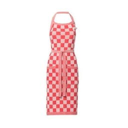 Knit Factory Knitted Apron Blok Red