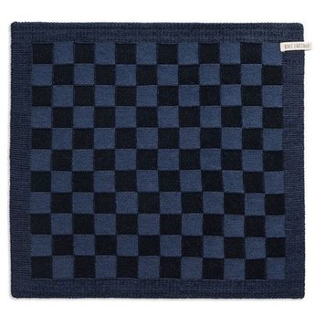Knit Factory Knitted Kitchen Towel Blok Black &