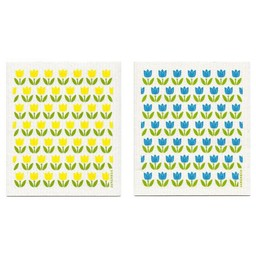 Jangneus Eco-friendly Dishcloth Tulips
