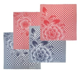 Hollandsche Waaren Tea towels * Flowers ( 2x)