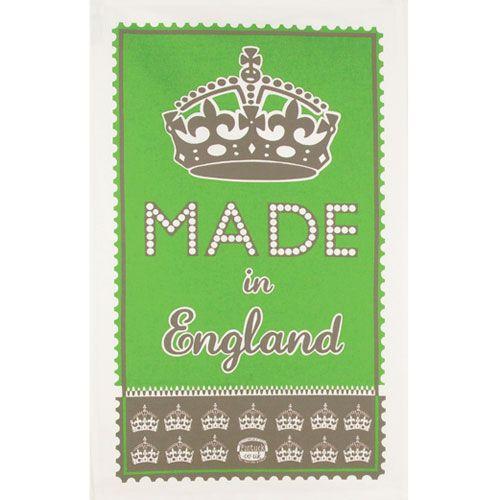 Mary Fellows - Pintuck Pintuck Tea towel Made in England