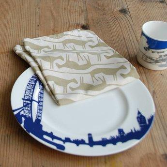 Skinny laMinx Tea towel Mongoose