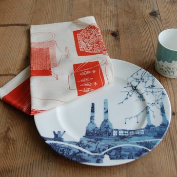 Skinny laMInx Tea Towel Teapots & Jugs