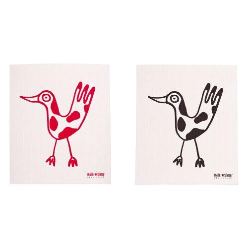 Malin Westberg Dishcloth Birds