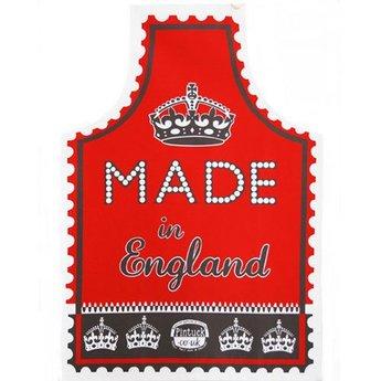 Marry Fellows - Pintuck Apron Made in England