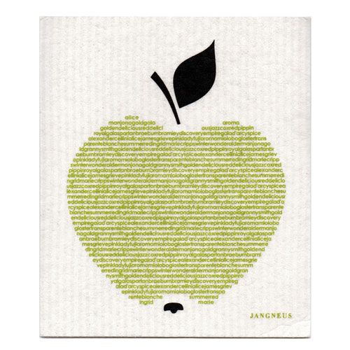 Jangneus Dishcloth Apple