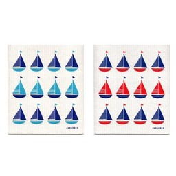 Jangneus Dishcloth Sailing boats