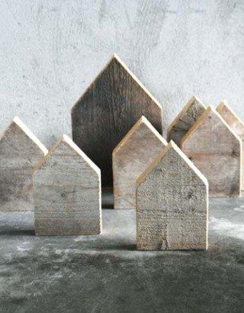 ONSHUS Houten huisjes