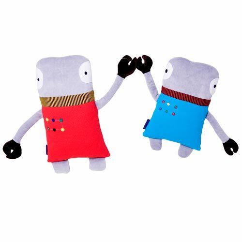 Robot knuffel