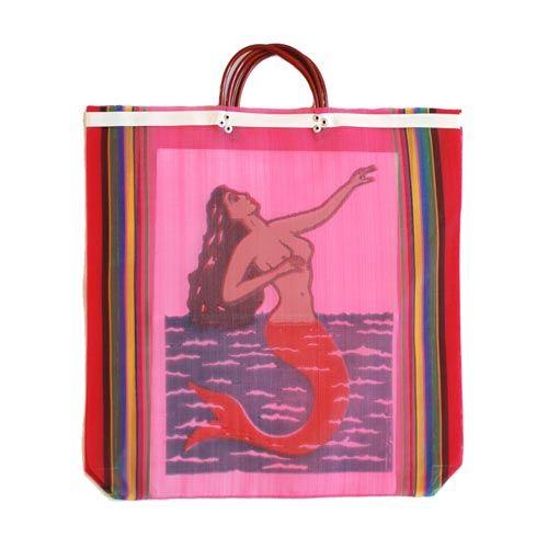Nylon bag mermaid