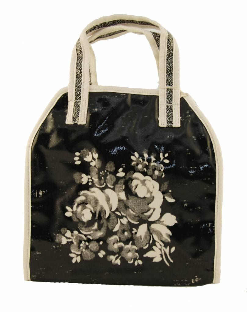 Lisa Stickley Handbag Flowers Ivy