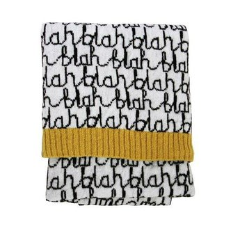 Donna Wilson Blah Blah mini blanket