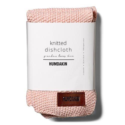 Humdakin Humdakin vaatdoek roze-grijs