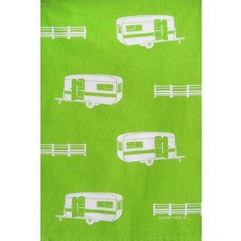 Tea towel Caravans