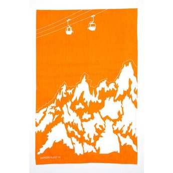 Tea towel Cable cabin