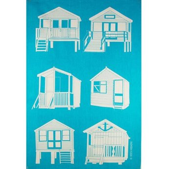 Tea towel Beach houses
