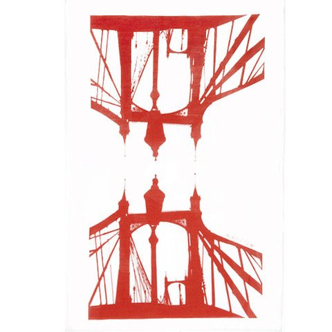 Tea towel Albert Bridge