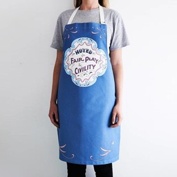 Apron Noted for fair play and civility