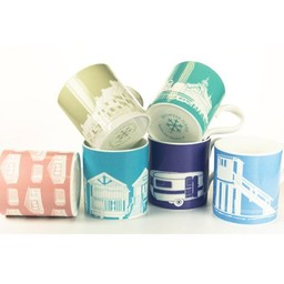 Snowden Flood Set of mugs Summer vacation