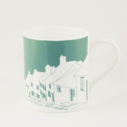 Snowden Flood Mug Cute village