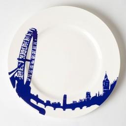 Plate London-Eye