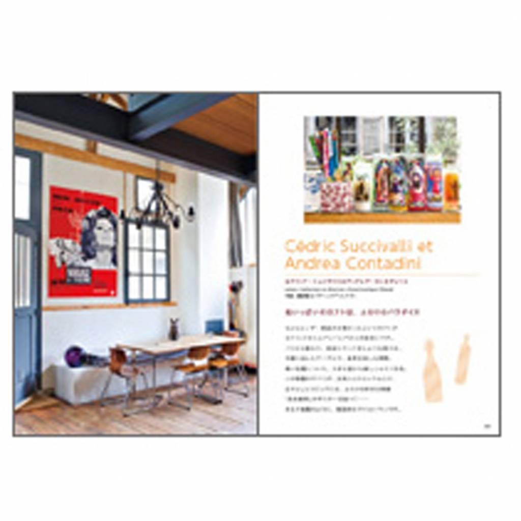 Japans interieurboek Appartements de Garcons - design fabrix