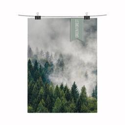 Design Jungle Print Green Forest