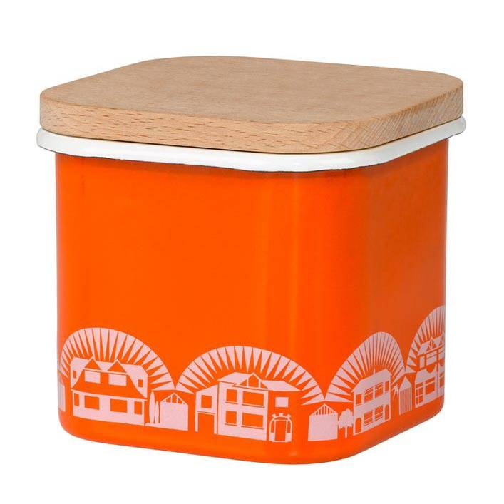 Enamelware Storage pot