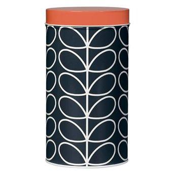 Orla Kiely Storage tin Jar Linear Stem
