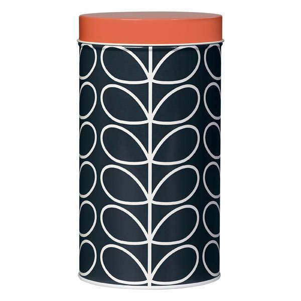 Orla Kiely Storage tin Jar Linear Stem