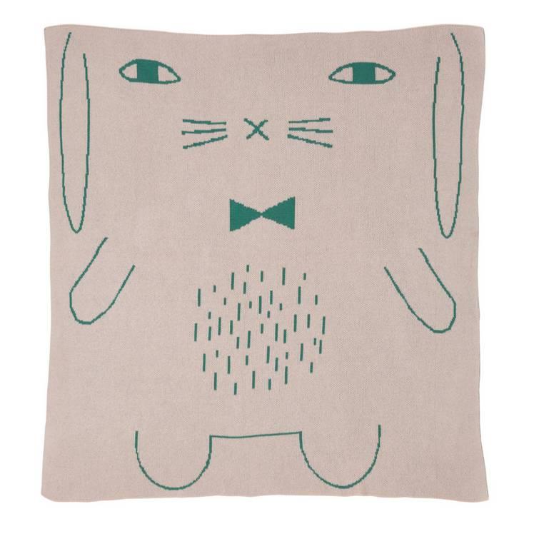 Donna Wilson Rabbit mini blanket