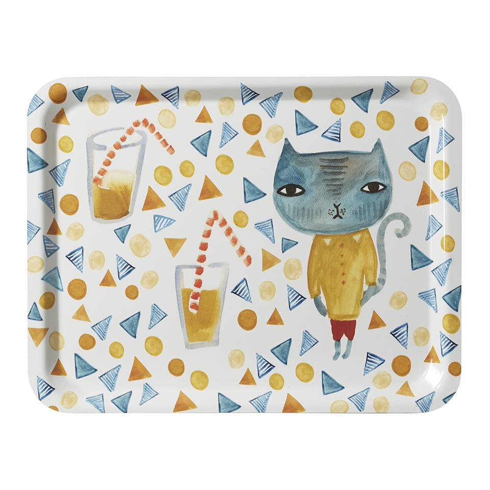 Donna Wilson Tray Cool cat