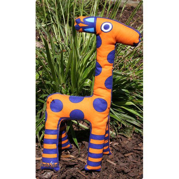 DIY cuddle giraffe